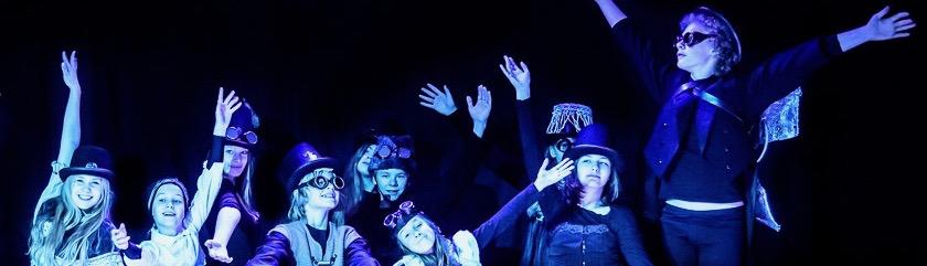 Ensemble des Stück ohne Sinn, SCALA11 in Essen Werden, Foto: Harald Hempel