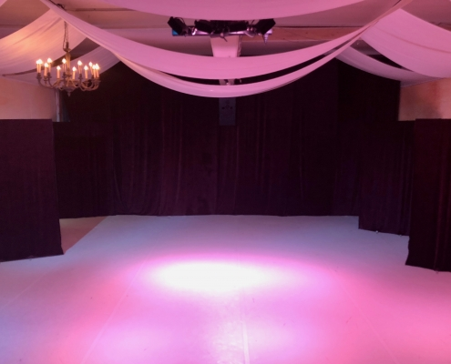 Die Studiobühne des Tanzstudios SCALA11 in Essen-Werden